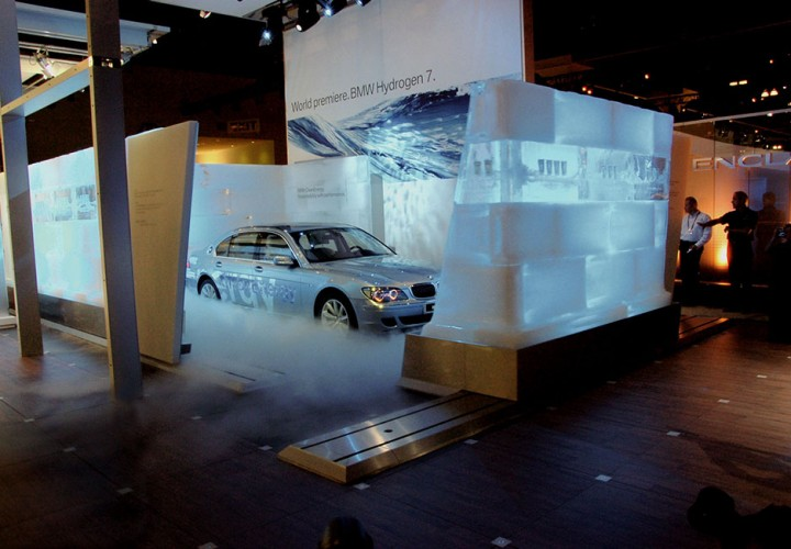 Eisskulptur - Referenzen - Funk Ice Art - BMW USA