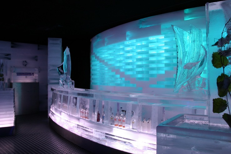 Eis Bar - Referenz - Funk Ice Art - Deutsche Bahn